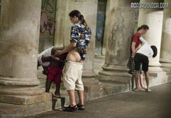 Prostituição na rua